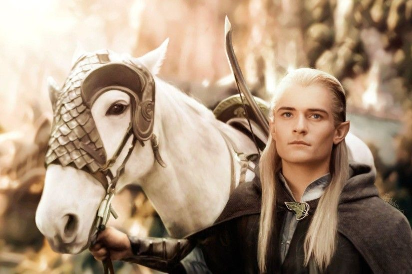 FunMozar – Orlando Bloom As Legolas In The Lord of the Rings