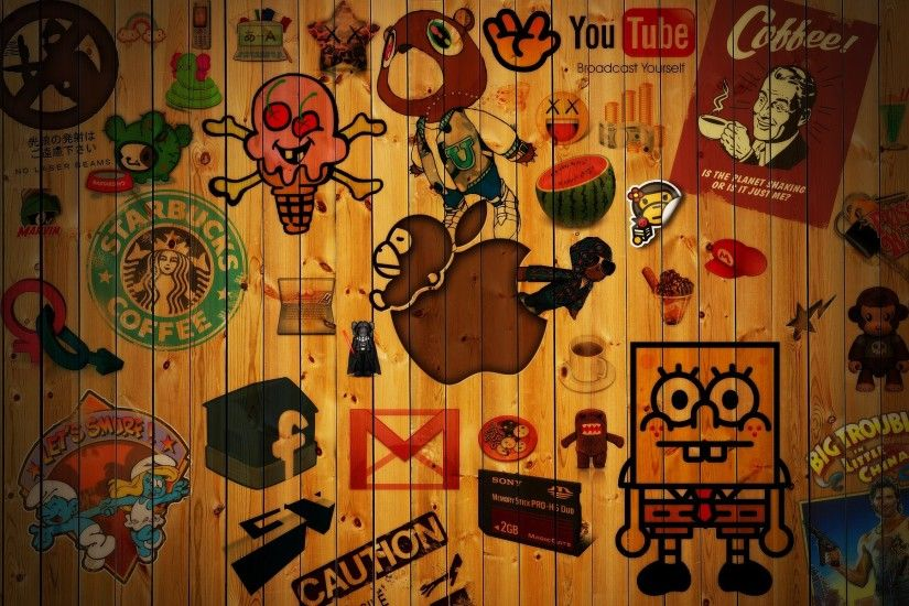 wood, SpongeBob SquarePants, Abstract, Wooden Surface Wallpapers HD /  Desktop and Mobile Backgrounds