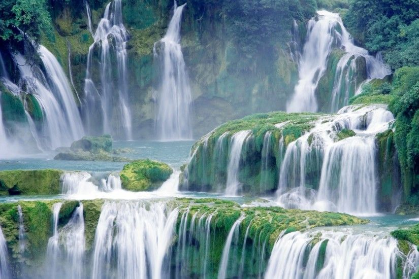Earth - Waterfall Mortal Kombat Wallpaper