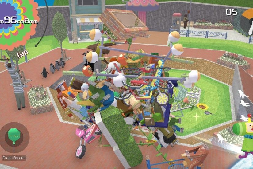 The game's so much fun I didn't really mind, but it'd have been lovely to  have a proper Katamari Damacy for 2018, especially considering the series  has been ...