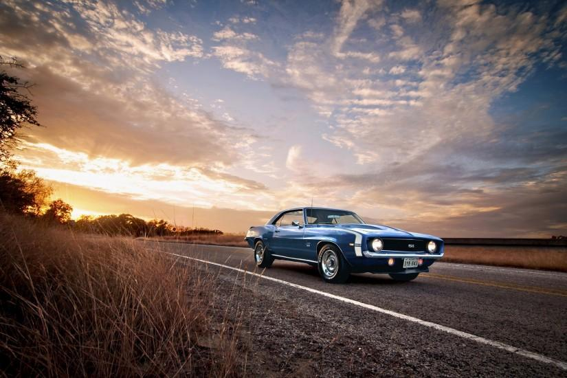 Photography of Camaro SS Classic Muscle Car HD Wallpaper 1920×1200 Pixel  Wallpaper