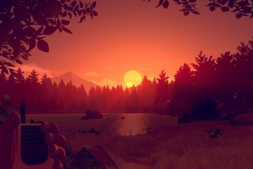 firewatch wallpaper 3000x1688 samsung galaxy