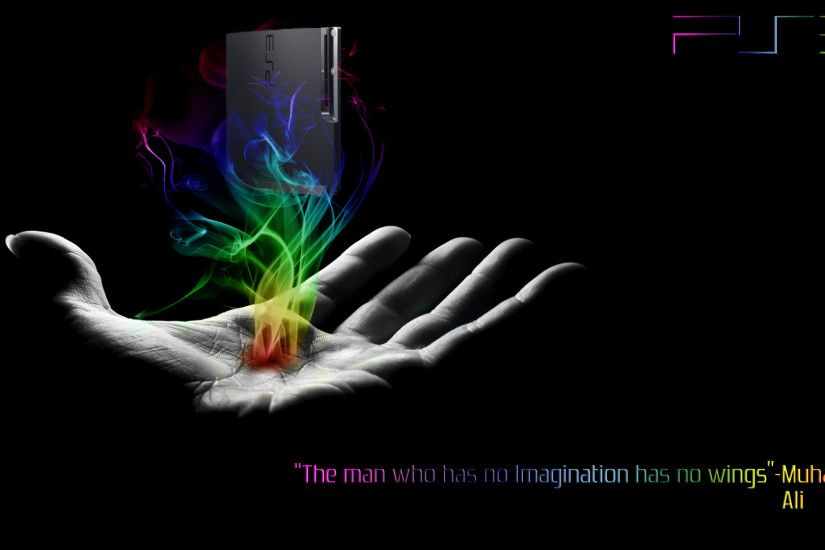 ps3 theme wallpaper by mccloud38 customization wallpaper other 2011 .