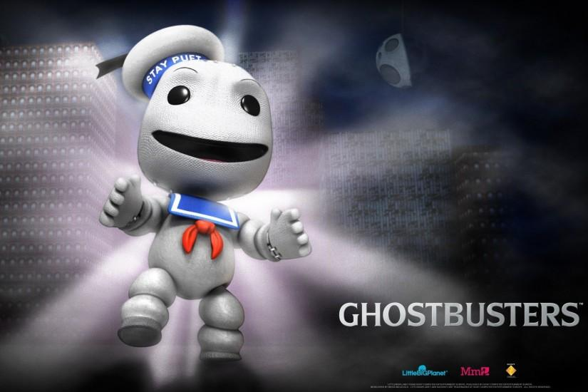 Little Big Planet Ghostbusters Wallpaper
