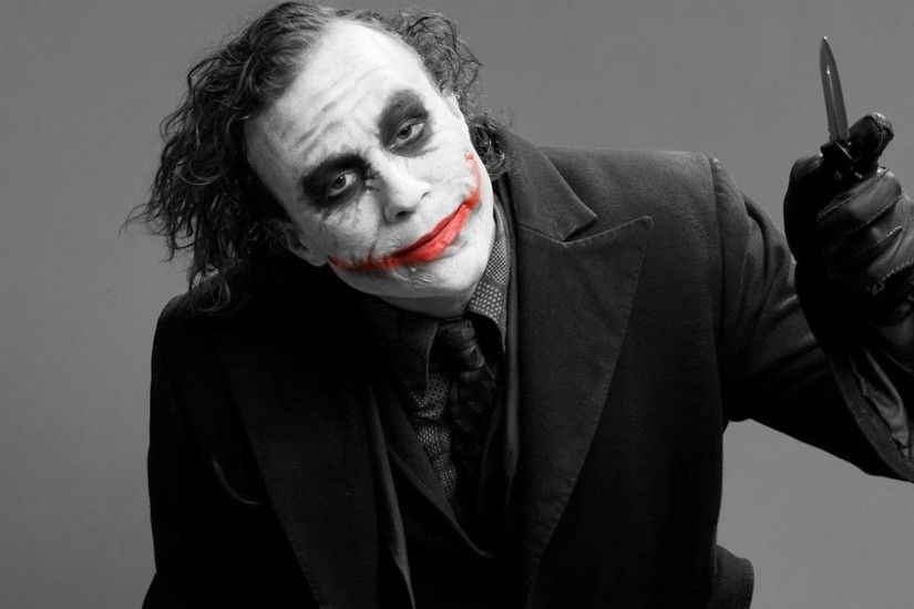 Joker, Heath Ledger, DC Comics, Black And Red, Batman, Photography  Wallpapers HD / Desktop and Mobile Backgrounds