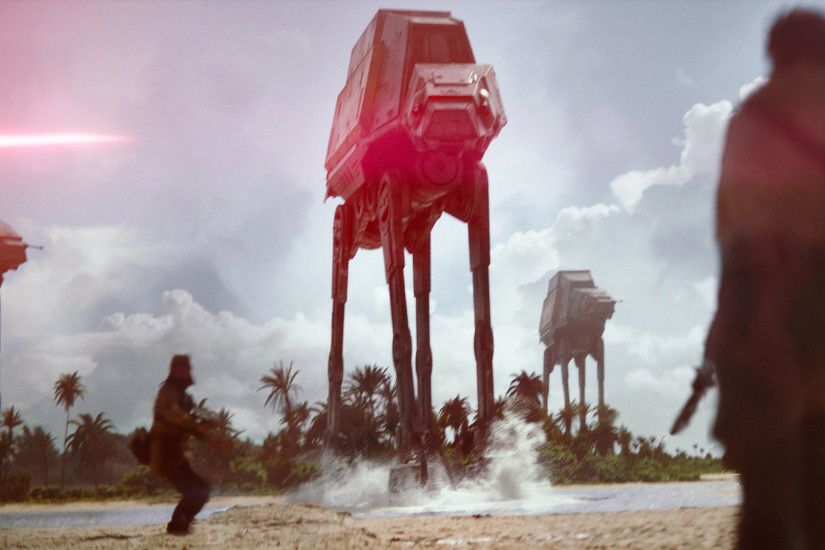 Star Wars Rogue One - Imperial Walkers Attack 3840x2160 wallpaper