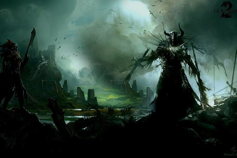 Guild Wars 2 Wallpaper Necromancer - Viewing Gallery