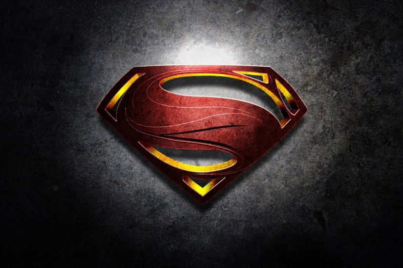 Movie - Man Of Steel Superman Superman Logo Wallpaper