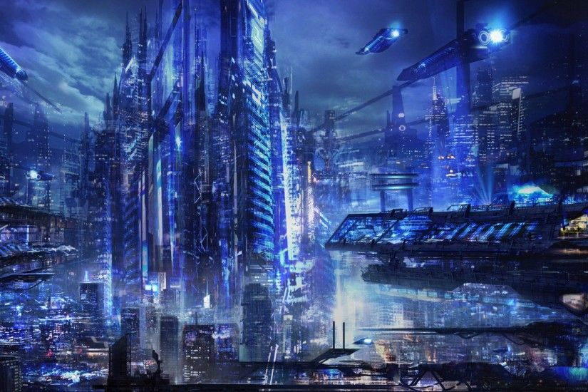 amazing future fiction city building