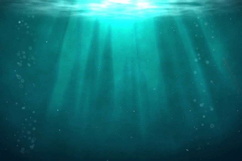 ... Free Deep Underwater Animated Background Wallpaper Full HD Loop .