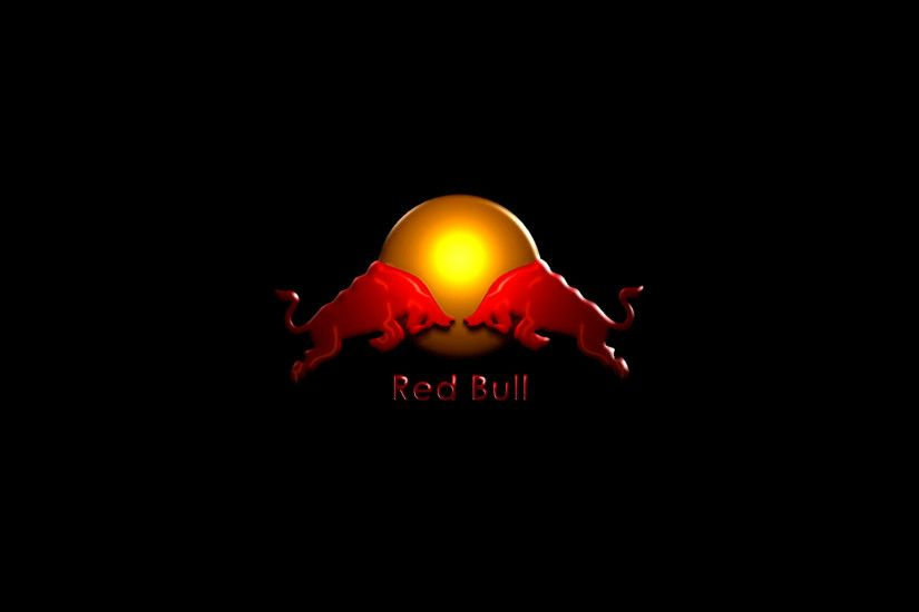 Preview wallpaper red bull, drink, energy, logo 3840x2160