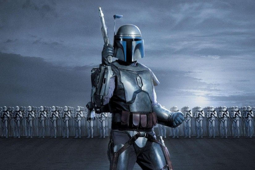 Movie - Star Wars Episode II: Attack Of The Clones Jango Fett Clone Trooper  Wallpaper
