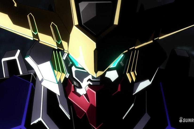 ... Barbatos Lupus Rex Face Wallpaper; Gundam ...
