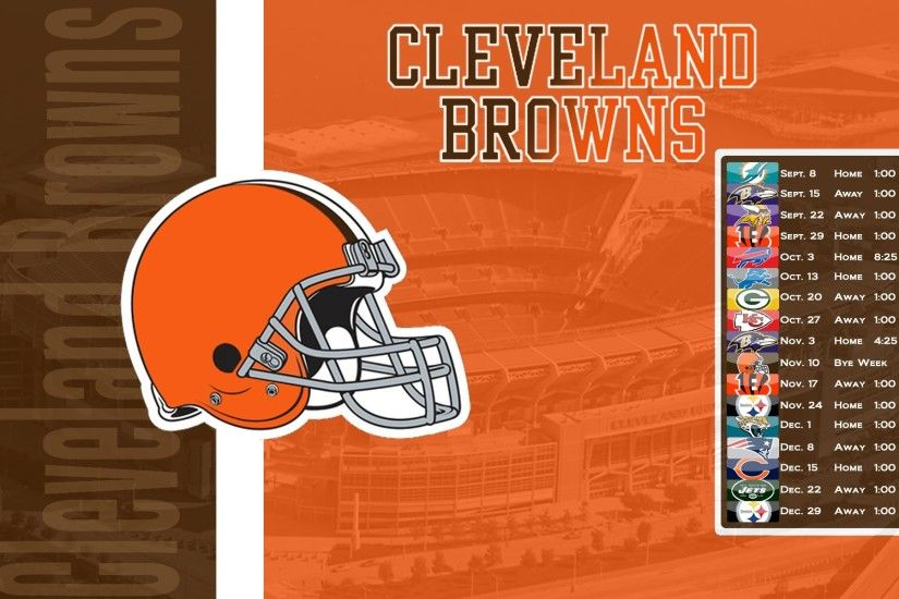 The Cleveland Browns Schedule