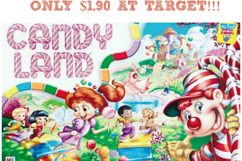 Candy Land Game Only $1.90 at Target!
