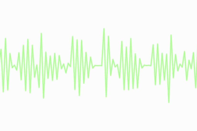 Sound waves moving graphic illustration. Motion Background - VideoBlocks