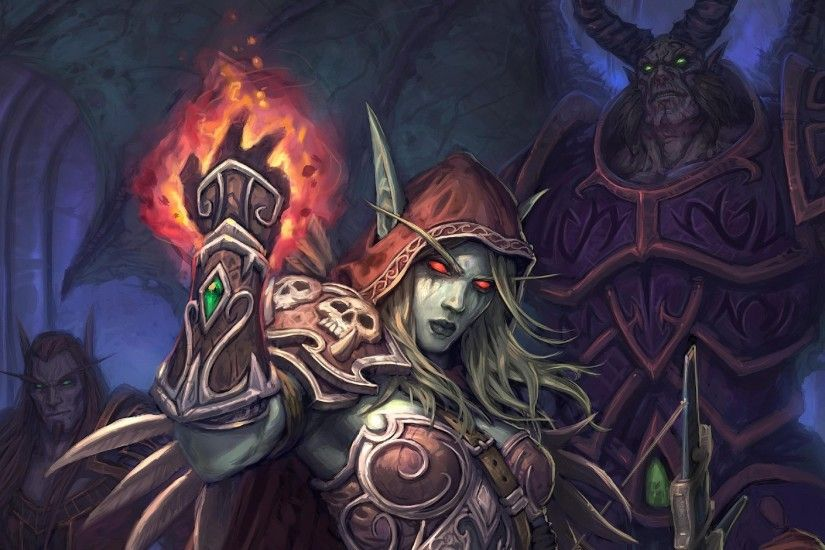 Sylvanas Windrunner, World of Warcraft Wallpapers HD / Desktop and Mobile  Backgrounds