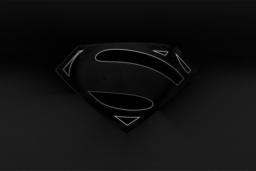 Black man of steel logo