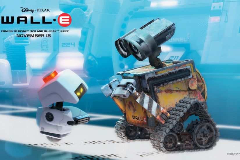 Wall-E the Robot wallpaper - Click picture for high resolution HD wallpaper
