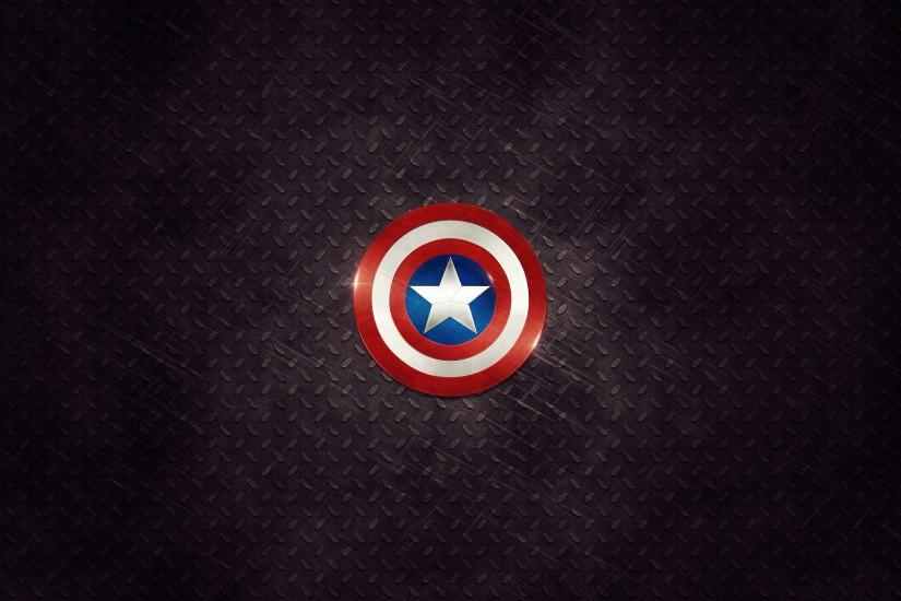 Captain America's shield wallpaper HD Marvel