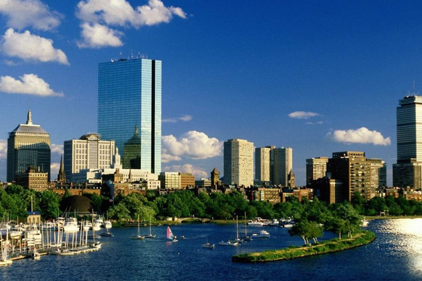 ... boston skyline wallpaper wallpapersafari ...