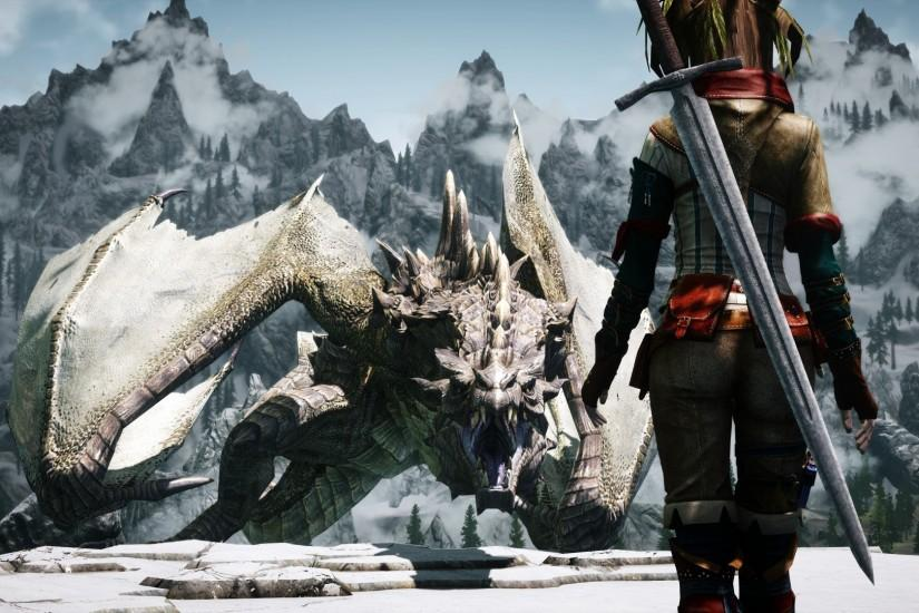 awesome skyrim wallpaper 3092