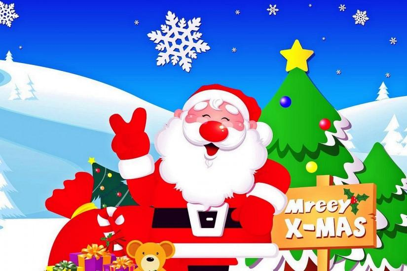 Merry Christmas Santa Claus Wallpaper | Download Wallpapers