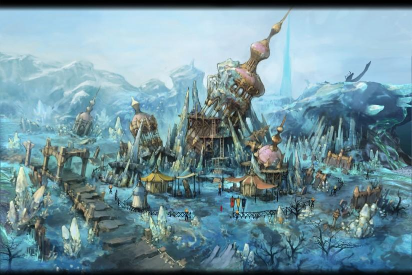 New Final Fantasy XIV: A Realm Reborn Concept Artwork and Screenshots