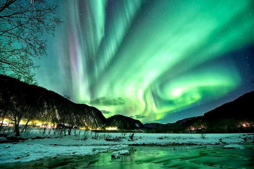 widescreen aurora borealis wallpaper 2560x1920