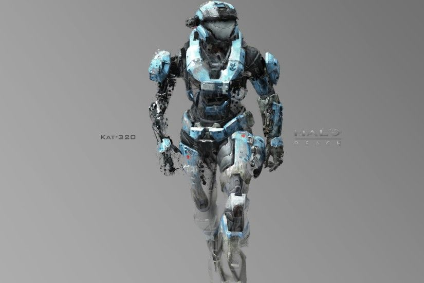 Preview wallpaper halo, soldier, armor, kat-320 3840x2160