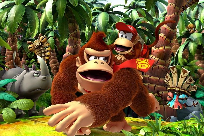 16 Donkey Kong Country Returns HD Wallpapers | Backgrounds - Wallpaper Abyss