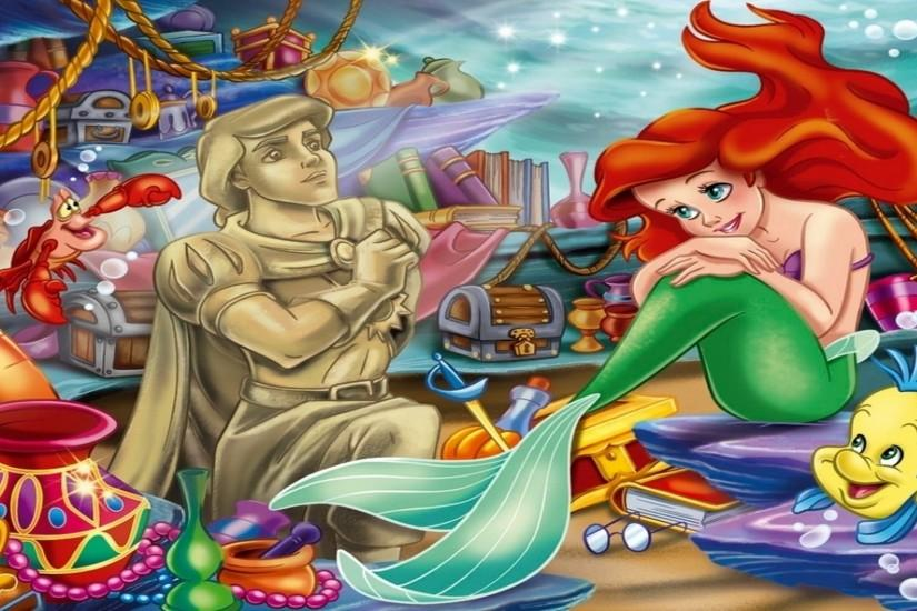 Disney Wallpapers, HD Desktop Wallpapers, ariel the little mermaid .