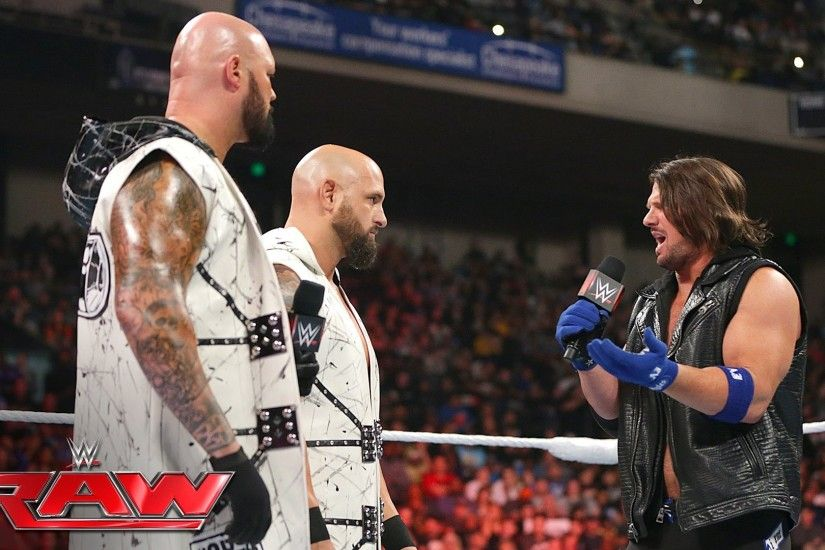 Luke Gallows & Karl Anderson part ways with AJ Styles: Raw, May 23, 2016 -  YouTube