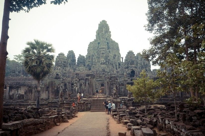 free desktop wallpaper downloads angkor thom - angkor thom category