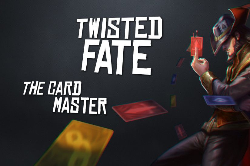 ... of Legends Wallpaper] TWISTED FATE #1 by CarryClown