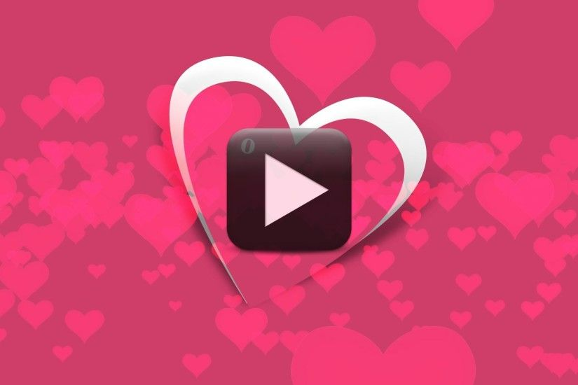 I Love You Animated Videos | Happy Valentine Day Background Video Animation  | All Design Creative