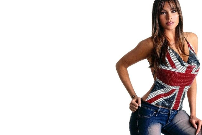 ... christymack t sofia vergara actress women jeans flag wallpaper  1920x1080 ...