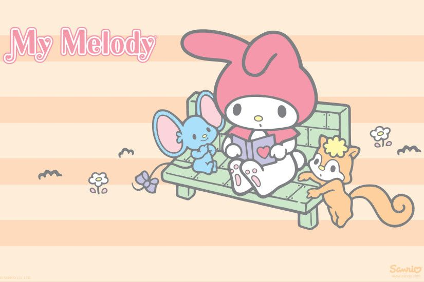 Follow My Melody: Facebook. Emoticons. Wallpapers. Paper Crafts