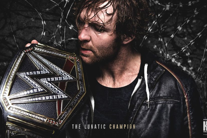 WWE World Heavyweight Champion Dean Ambrose wallpaper 1920×1200 | 1920×1080  ...