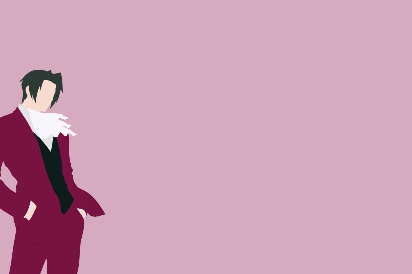 Ace Attorney Wallpaper - Edgeworth by ArcBuild