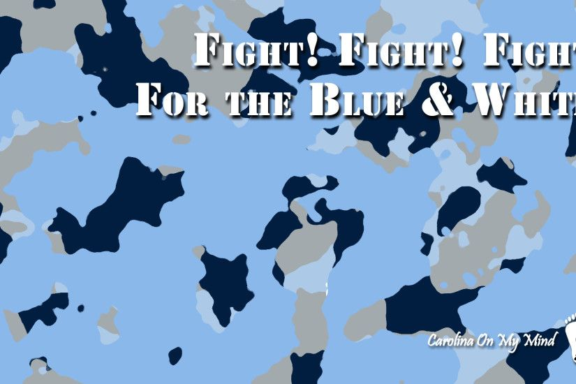 Fight Fight Fight Camo UNC Desktop Wallpaper 1920 x 1080