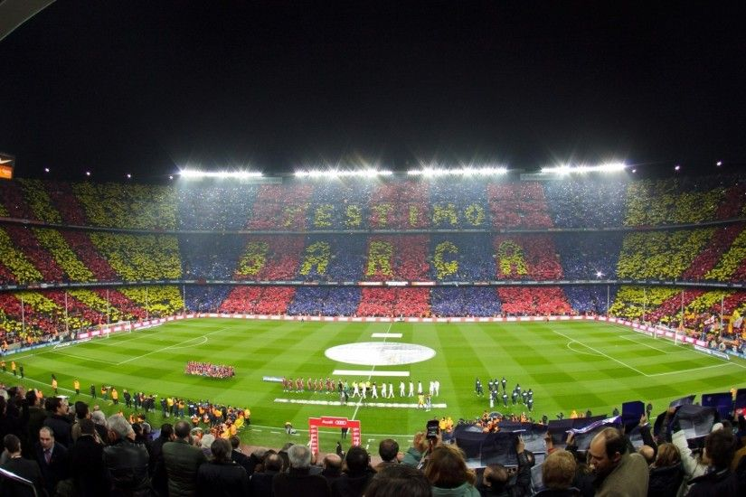 Preview wallpaper barcelona, camp nou, stadium 1920x1080
