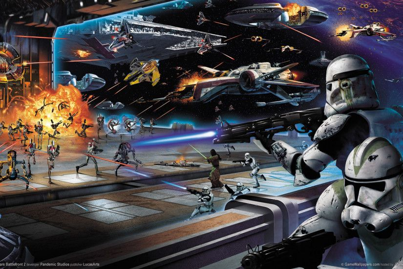 9 Star Wars: Battlefront II HD Wallpapers | Backgrounds - Wallpaper Abyss