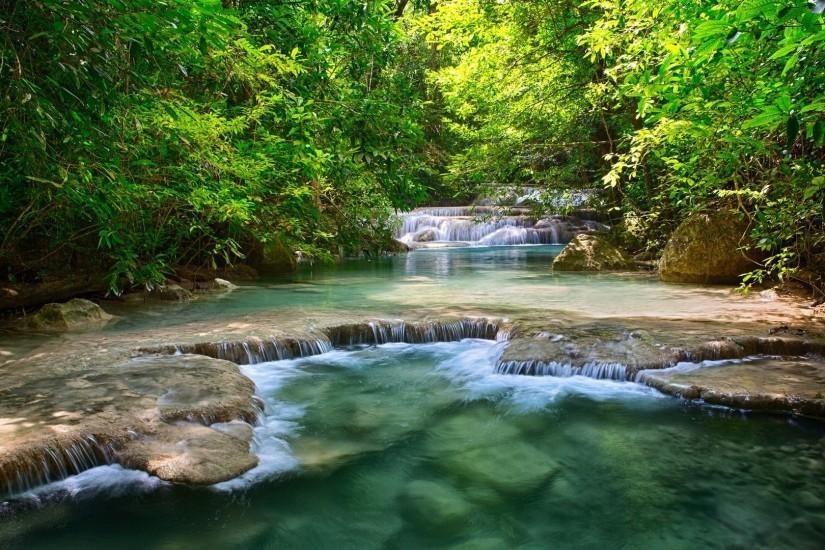river with small rapids HD Desktop Wallpaper | HD Desktop Wallpaper .