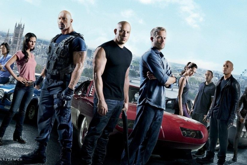 movies, Fast And Furious, Dwayne Johnson, Paul Walker, Vin Diesel, Gal  Gadot, Jordana Brewster Wallpapers HD / Desktop and Mobile Backgrounds