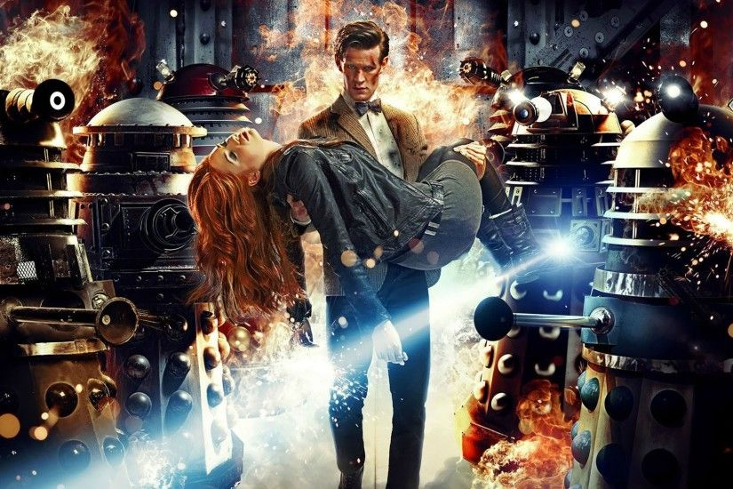 The Doctor And Amy Pond - Who 444584