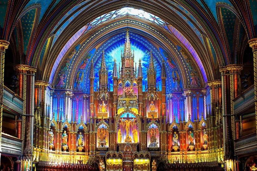 notre dame basilica in montreal picture desktop nexus wallpaper - notre  dame basilica in montreal category