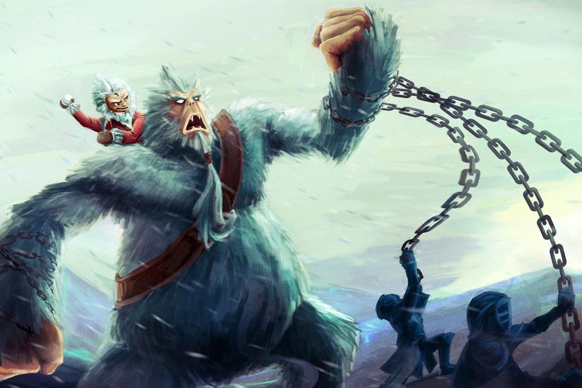 nunu wordshop christmas skin league of legends game