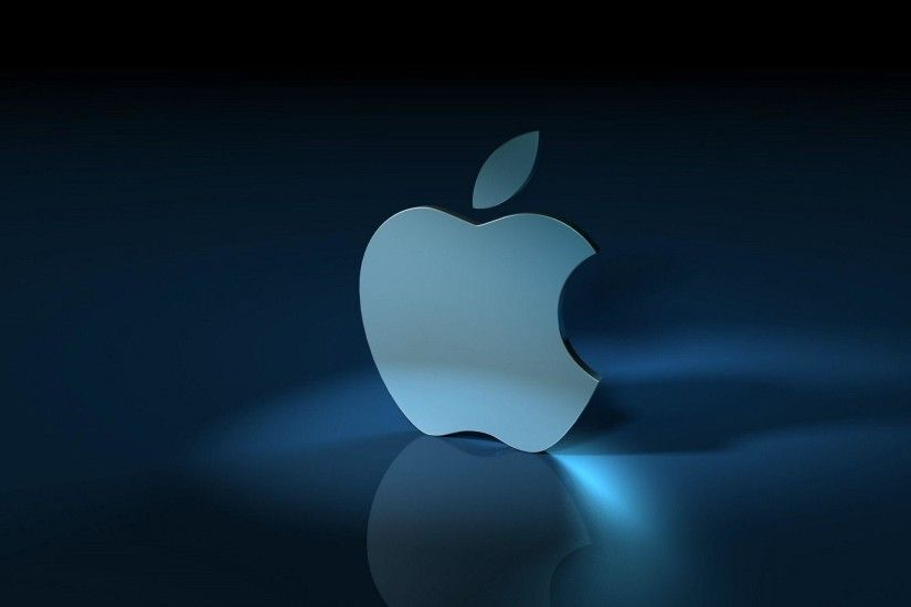 3D Apple Logo Wallpaper | Wallpaper Download
