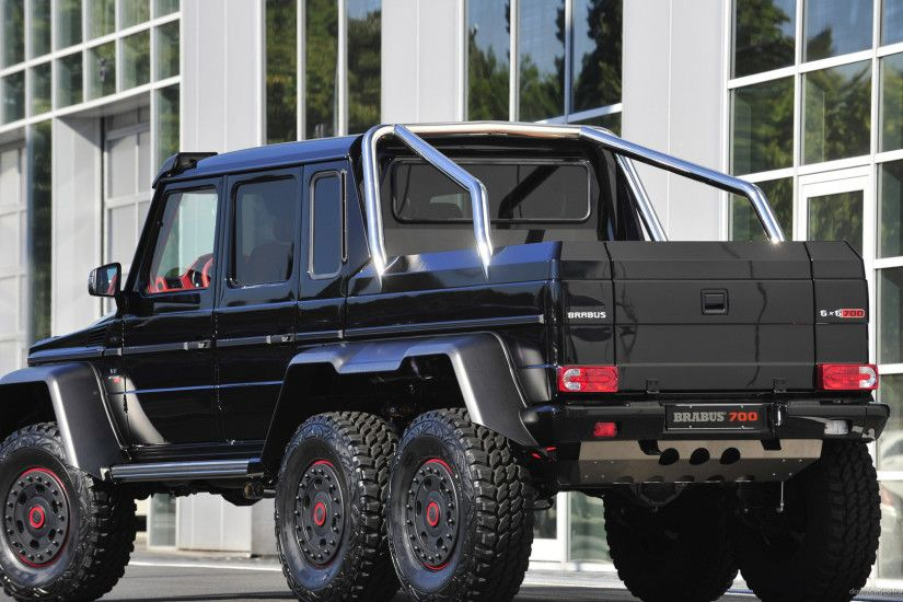Brabus B63S Mercedes-Benz G-Class 6x6 Back for 1920x1080